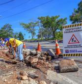 Secretaria de Serviços Municipais de Santana de Parnaíba continua limpeza e manutenção nos bairros