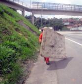 CCR ViaOeste e CCR RodoAnel registram diminuição na quantidade de lixo retirada das rodovias em 2016