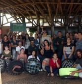 Santana de Parnaíba promove curso gratuito de mobiliário de jardim com pneus