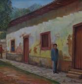 À venda, obra da artista plástica parnaibana, Mariazinha Fernandes ('in memorium')