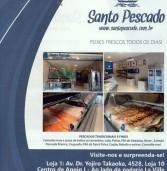 Publicidade: Inauguração da segunda loja (peixaria) da Santo Pescado em Alphaville
