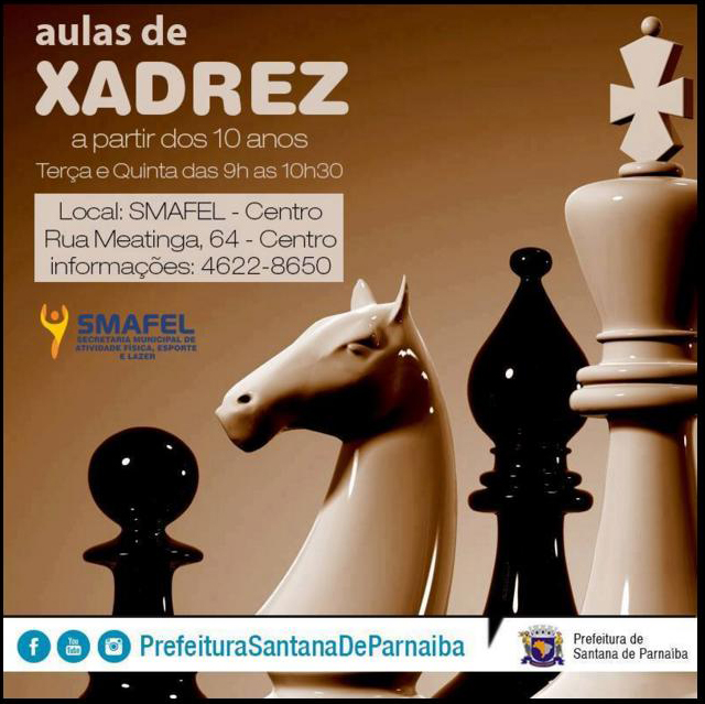 aula de xadrez