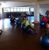 Secretaria de Esportes de Barueri oferece pilates  para o pessoal da terceira idade