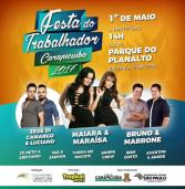 Shopping Plaza Carapicuiba promove no Dia do Trabalhador: shows de Maiara & Maraisa, Zezé Di Camargo & Luciano, Bruno & Marrone, dentre outros