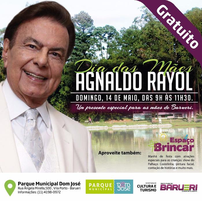 Agnaldo Rayol - Parque Dia das mães