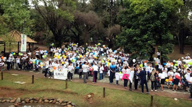 Aconteceu hoje em Barueri a 2a. Edição da Caminhada Inclusiva