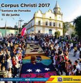 É amanhã! Dia 15 de junho, Corpus Christi no Centro Histórico de Santana de Parnaíba