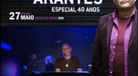 Show de Guilherme Arantes – Especial 40 Anos no Teatro Municipal de Barueri