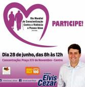 Melhor Idade de Santana de Parnaíba vai as ruas nesta quarta-feira, 28 de junho, dizer não a violência contra o idoso