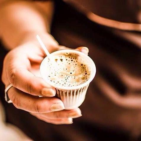 degustação de café caramello