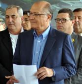 Governador Geraldo Alckmin inaugura a ampliação da Estação de Tratamento de Esgoto (ETE) em Barueri