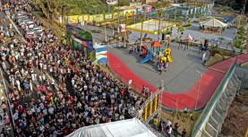 Inaugurado o terceiro parque de Santana de Parnaíba