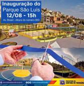 Dia 12 de agosto, as 15h, será inaugurado o Parque Municipal São Luís pela Prefeitura de Santana de Parnaíba