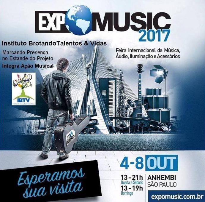 Instituto Brotando Talentos e Vidas.Expo Music