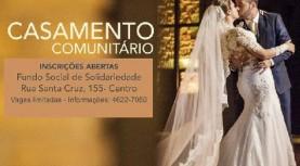 Inscrições abertas para o Casamento Comunitário em Santana de Parnaíba