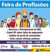 Participe da Feira de Profissões em Santana de Parnaíba