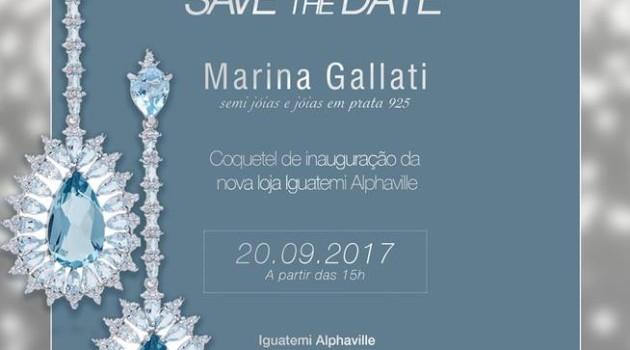 Coquetel de Inauguração, hoje – Marina Gallati – Shopping Iguatemi Alphaville