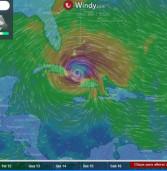Furacão Irma, categoria 5, passa por Caribe, destruindo e caminha para Miami/Flórida, EUA. Itamarati cria serviço de apoio aos brasileiros.
