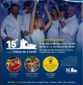 """Costa Favolosa: Cruzeiro  """"15o. Dançando a Bordo"""" 3 a 11.03.2018 – 8 noites"""