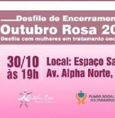 HOJE – Desfile encerra Campanha do Outubro Rosa em Santana de Parnaíba no Espaço Savana
