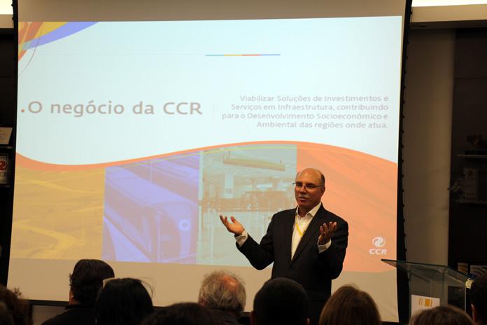 Foto 1 - Paulo Rangel, presidente da CCR ViaOeste e CCR  RodoAnel