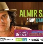 5 de novembro, 10:00h: Show gratuito de Almir Sater no Parque Municipal de Barueri