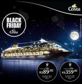 Costa Cruzeiros: As melhores ofertas do Black Friday para suas férias, no Costa Favolosa!