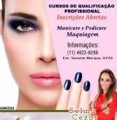 Curso gratuito de Maquiagem, Manicure e Pedicure com inscrições abertas em Santana de Parnaíba
