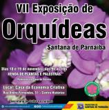 Hoje e Amanhã, VII Exposição de Orquídeas de Santana de Parnaíba