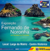 Exposição Fernando de Noronha no CEMIC, Centro Histórico de Santana de Parnaíba. Visite!