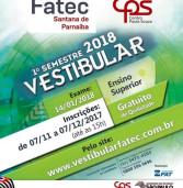 Inscrições abertas para Vestibular Fatec – Centro Paula Souza – Estudo Gratuito
