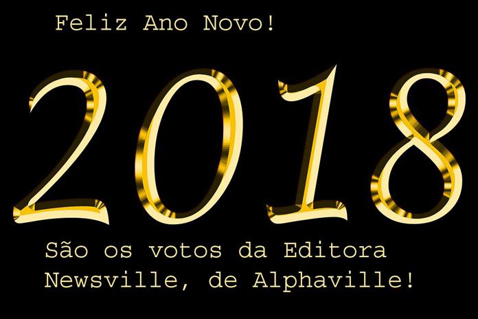 Feliz ano novo.Newsville