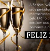 Nossos votos de um Feliz Ano Novo!