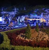 A decoração faz parte do Natal de Luz da cidade que começou  em 8 de dezembro e vai até a Folia de Reis