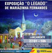 """Exposição """"O Legado"""" de Mariazinha Fernandes (obras de alunos), de 27/01 a 01/04"""