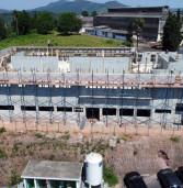 Obra do complexo hospitalar Santa Ana temPS Infantil e Centro de Especialidades