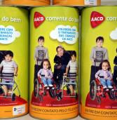 Corrente do Bem: Cofrinhos de Barueri devolvidos à AACD continham mais de R$ 80 mil reais