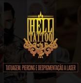 Hell Tatoo: tatuagem – piercing – remoção à laser – despigmentação de sobrancelhas – alargadores
