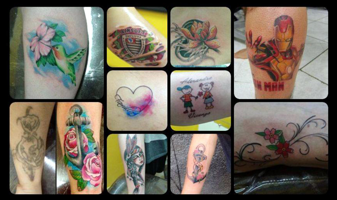 Hell.tatoo.coloridas. diversas