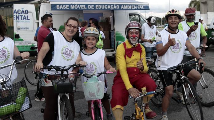 Ciclistas  aderiram em massa à Pedalada de 2017