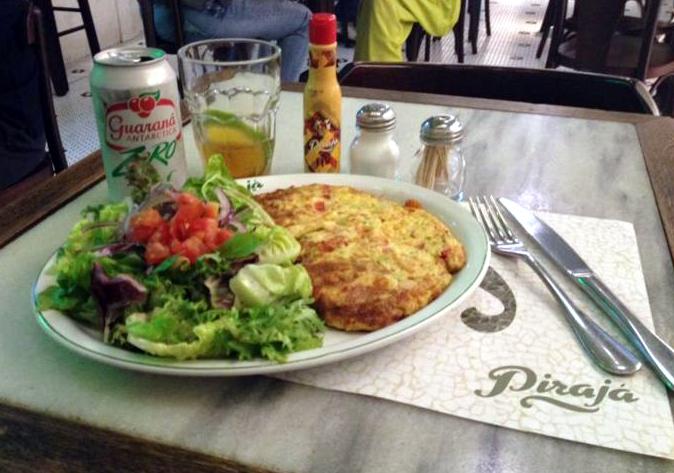 Pirajá.omelete