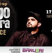 "Teatro Municipal de Barueri apresenta StandUp ""Thiago Ventura Agradece"" em 17/02. Ingressos à venda."