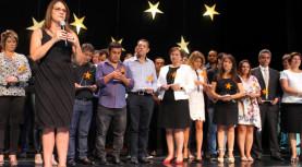 Teatro Municipal de Barueri fez evento da Campanha do Agasalho de Barueri, agradecendo os parceiros colaboradores de 2017, visando os trabalhos de 2018