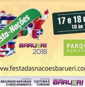 Festa das Nações, dias 17 e 18 no Parque Municipal de Barueri