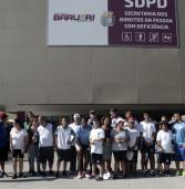 Caminhada marca início das ações da SDPD no mês de aniversário de Barueri