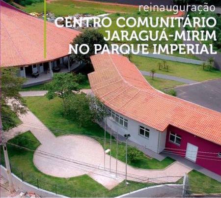inauguração centro comunitário.vista de cima