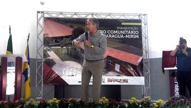 Inaugurado hoje, o Centro Comunitário Jaraguá-Mirim, no Parque Imperial de Barueri