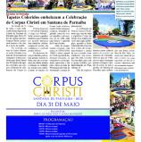Corpus Christi HOJE (Alpha Post): A maior celebração religiosa, no calendário turístico de Santana de Parnaíba