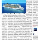 Turismo (Alpha Post): Costa Smeralda, futuro lançamento da Costa Cruzeiros e Temporada 2018/19
