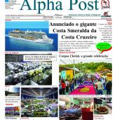 Leia aqui o Alpha Post de maio. Dê 'zoom' para aumentar. Boa leitura!
